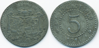 5 Pfennig 1917 Hessen/Nassau Dillkreis - Z...
