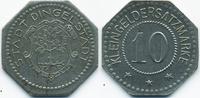 10 Pfennig ohne Jahr Sachsen Dingelstädt -...