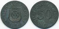 50 Pfennig 1917 Baden Donaueschingen - Zin...