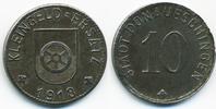 10 Pfennig 1918 Baden Donaueschingen - Eis...