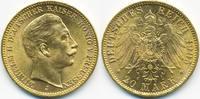 20 Mark 1905 J Preußen Wilhelm II. 1888-1918 fast prägefrisch  400,00 EUR free shipping