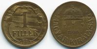 1 Filler 1935 BP Ungarn - Hungary Regierung Horthy 1920-1944 vorzüglich  1,50 EUR  +  1,80 EUR shipping