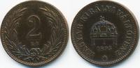 2 Filler 1895 KB Ungarn - Hungary Franz Josef I. 1848-1916 sehr schön+ ... 1,00 EUR  +  1,80 EUR shipping