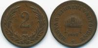 2 Filler 1897 KB Ungarn - Hungary Franz Josef I. 1848-1916 sehr schön -... 0,70 EUR  +  1,80 EUR shipping