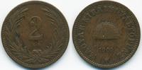 2 Filler 1901 KB Ungarn - Hungary Franz Josef I. 1848-1916 fast sehr sc... 0,70 EUR  +  1,80 EUR shipping