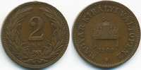 2 Filler 1909 KB Ungarn - Hungary Franz Josef I. 1848-1916 sehr schön -... 0,70 EUR  +  1,80 EUR shipping