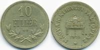 10 Filler 1915 KB Ungarn - Hungary Franz Josef I. 1848-1916 sehr schön+  0,70 EUR  +  1,80 EUR shipping