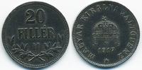 20 Filler 1917 KB Ungarn - Hungary Franz Josef I. 1848-1916 sehr schön+... 1,50 EUR  +  1,80 EUR shipping