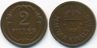 2 Filler 1926 BP Ungarn - Hungary Regierung Horthy 1920-1944 sehr schön... 1,00 EUR  +  1,80 EUR shipping