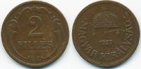 2 Filler 1927 BP Ungarn - Hungary Regierung Horthy 1920-1944 sehr schön... 0,80 EUR  +  1,80 EUR shipping