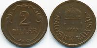 2 Filler 1935 BP Ungarn - Hungary Regierung Horthy 1920-1944 gutes sehr... 0,70 EUR  +  1,80 EUR shipping