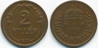 2 Filler 1937 BP Ungarn - Hungary Regierung Horthy 1920-1944 sehr schön... 0,70 EUR  +  1,80 EUR shipping