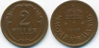 2 Filler 1940 BP Ungarn - Hungary Regierung Horthy 1920-1944 vorzüglich  0,70 EUR  +  1,80 EUR shipping