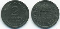 2 Filler 1943 BP Ungarn - Hungary Regierung Horthy 1920-1944 gutes vorz... 1,00 EUR  +  1,80 EUR shipping