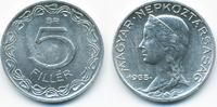 5 Filler 1955 BP Ungarn - Hungary Volksrepublik 1949-1989 vorzüglich - ... 0,80 EUR  +  1,80 EUR shipping
