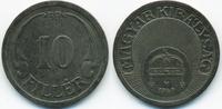 10 Filler 1940 BP Ungarn - Hungary Regierung Horthy 1920-1944 fast vorz... 1,00 EUR  +  1,80 EUR shipping