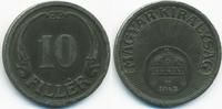 10 Filler 1942 BP Ungarn - Hungary Regierung Horthy 1920-1944 vorzüglich  1,00 EUR  +  1,80 EUR shipping