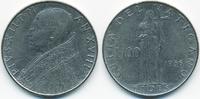 100 Lire 1956 Vatikan - Vatican Pius XII. sehr schön  1,50 EUR  +  1,80 EUR shipping