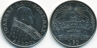 50 Lire 1962 Vatikan - Vatican Johannes XXIII. prägefrisch/stempelglanz  4,50 EUR  +  1,80 EUR shipping