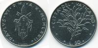 50 Lire 1972 Vatikan - Vatican Paul VI. fast prägefrisch  1,50 EUR  +  1,80 EUR shipping