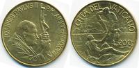 200 Lire 1998 Vatikan - Vatican Johannes Paul II. prägefrisch  4,00 EUR  +  1,80 EUR shipping