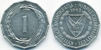 1 Mil 1963 Zypern - Cyprus Republik 1960-2001 vorzüglich/prägefrisch  0,60 EUR  +  1,80 EUR shipping
