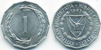 1 Mil 1963 Zypern - Cyprus Republik 1960-2001 prägefrisch  0,80 EUR  +  1,80 EUR shipping