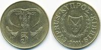 5 Cents 2001 Zypern - Cyprus Republik 1960-2001 vorzüglich - minimal fl... 0,40 EUR  +  1,80 EUR shipping