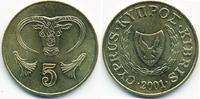 5 Cents 2001 Zypern - Cyprus Republik 1960-2001 prägefrisch - minimal f... 0,60 EUR  +  1,80 EUR shipping