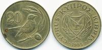 20 Cents 1985 Zypern - Cyprus Republik 1960-2001 sehr schön+ - minimal ... 1,00 EUR  +  1,80 EUR shipping