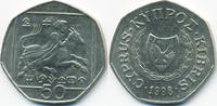 50 Cents 1998 Zypern - Cyprus Republik 1960-2001 sehr schön/vorzüglich  2,00 EUR  +  1,80 EUR shipping
