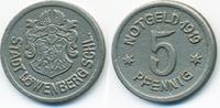 5 Pfennig 1919 Schlesien Löwenberg - Eisen...