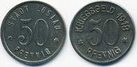 50 Pfennig 1918 Schlesien Loslau - Eisen 1...
