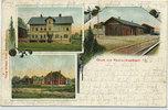 Ansichtskarte 1905 Bayern – Kirchenthumbac...