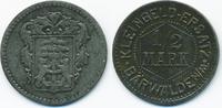 1/2 Mark ohne Jahr Brandenburg Bärwalde - ...
