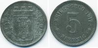 5 Pfennig 1917 Westfalen Menden - Zink 191...