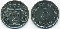 5 Pfennig 1919 Westfalen Menden - Eisen 19...
