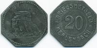 20 Pfennig 1917 Lothringen Merlenbach - Zi...