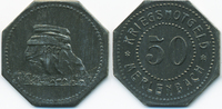 50 Pfennig 1917 Lothringen Merlenbach - Zi...