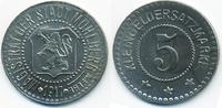 5 Pfennig 1917 Sachsen Mühlberg a. E. - Ei...