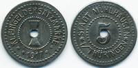 5 Pfennig 1917 Sachsen Mühlhausen i. Thür....