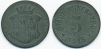 5 Pfennig 1918 Bayern Münchberg - Zink 191...