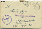 1941 Böhmen - Feldpost Feldpost Kuvert De...