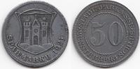 50 Pfennig 1921 Schlesien Münsterberg - Ei...