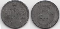 5 Pfennig 1918 Württemberg Murrhardt - Eis...