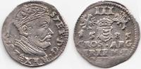 Trojak (3 Groschen) 1585 Polen/Litauen – P...