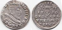 Trojak (3 Groschen) 1590 Polen/Litauen – P...