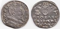 Trojak (3 Groschen) 1595 Polen/Litauen – P...