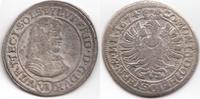 6 VI Kreuzer 1674 SP Schlesien-Württemberg...