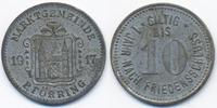 10 Pfennig 1917 Bayern Pförring - Zink vernickelt 1917 (Funck 422.2) se... 59,00 EUR  +  4,80 EUR shipping